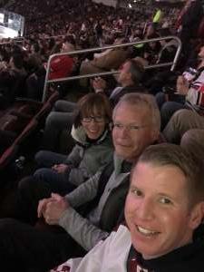 Justin attended Arizona Coyotes vs. Carolina Hurricanes - NHL on Feb 6th 2020 via VetTix