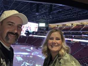 John attended Arizona Coyotes vs. Carolina Hurricanes - NHL on Feb 6th 2020 via VetTix