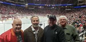 Greg attended Arizona Coyotes vs. Carolina Hurricanes - NHL on Feb 6th 2020 via VetTix