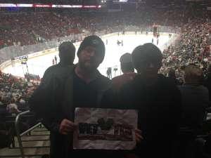 Sean attended Arizona Coyotes vs. Carolina Hurricanes - NHL on Feb 6th 2020 via VetTix