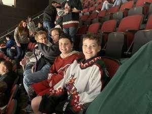 MW attended Arizona Coyotes vs. Carolina Hurricanes - NHL on Feb 6th 2020 via VetTix