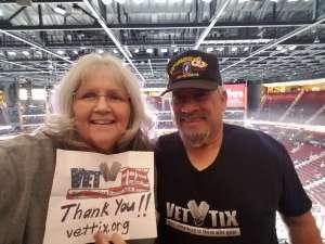 Marion attended Arizona Coyotes vs. Carolina Hurricanes - NHL on Feb 6th 2020 via VetTix