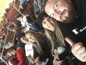 Jordan attended Arizona Coyotes vs. Carolina Hurricanes - NHL on Feb 6th 2020 via VetTix