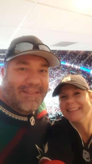 Linda attended Arizona Coyotes vs. Carolina Hurricanes - NHL on Feb 6th 2020 via VetTix