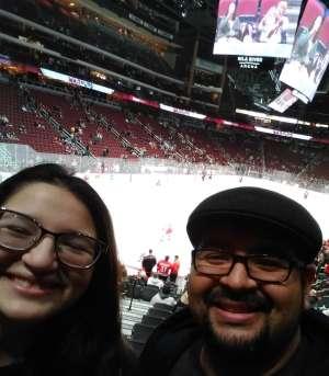 Ernesto attended Arizona Coyotes vs. Carolina Hurricanes - NHL on Feb 6th 2020 via VetTix