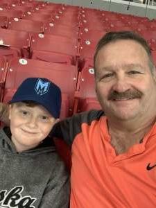 Steven attended Arizona Coyotes vs. Carolina Hurricanes - NHL on Feb 6th 2020 via VetTix