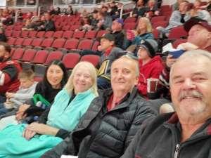 Elmer attended Arizona Coyotes vs. Carolina Hurricanes - NHL on Feb 6th 2020 via VetTix