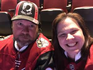 Thomas attended Arizona Coyotes vs. Carolina Hurricanes - NHL on Feb 6th 2020 via VetTix