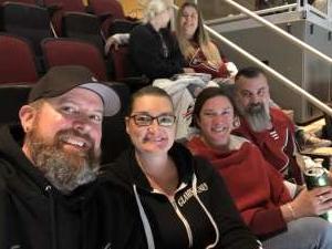 Shane attended Arizona Coyotes vs. Carolina Hurricanes - NHL on Feb 6th 2020 via VetTix