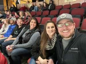 Woodard attended Arizona Coyotes vs. Carolina Hurricanes - NHL on Feb 6th 2020 via VetTix