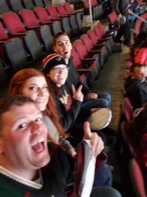 Ray attended Arizona Coyotes vs. Carolina Hurricanes - NHL on Feb 6th 2020 via VetTix