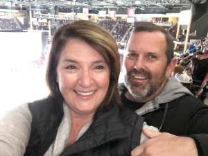 Franck attended Arizona Coyotes vs. Carolina Hurricanes - NHL on Feb 6th 2020 via VetTix