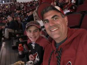 Mark attended Arizona Coyotes vs. Carolina Hurricanes - NHL on Feb 6th 2020 via VetTix