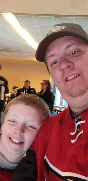 ROBERT attended Arizona Coyotes vs. Carolina Hurricanes - NHL on Feb 6th 2020 via VetTix