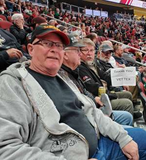 Jack attended Arizona Coyotes vs. Carolina Hurricanes - NHL on Feb 6th 2020 via VetTix