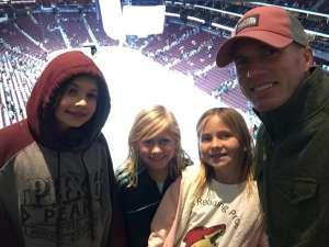 JARRED attended Arizona Coyotes vs. Carolina Hurricanes - NHL on Feb 6th 2020 via VetTix
