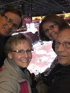 David attended Arizona Coyotes vs. Carolina Hurricanes - NHL on Feb 6th 2020 via VetTix