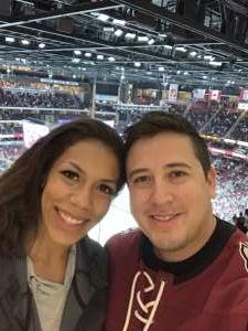 Michael attended Arizona Coyotes vs. Carolina Hurricanes - NHL on Feb 6th 2020 via VetTix
