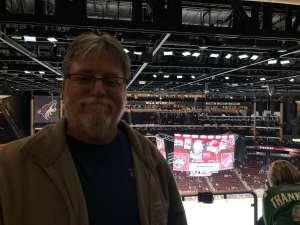 Derrick attended Arizona Coyotes vs. Florida Panthers - NHL on Feb 25th 2020 via VetTix
