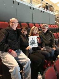dean attended Arizona Coyotes vs. Florida Panthers - NHL on Feb 25th 2020 via VetTix