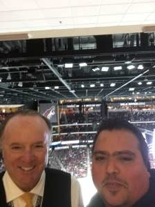 Ramon attended Arizona Coyotes vs. Florida Panthers - NHL on Feb 25th 2020 via VetTix