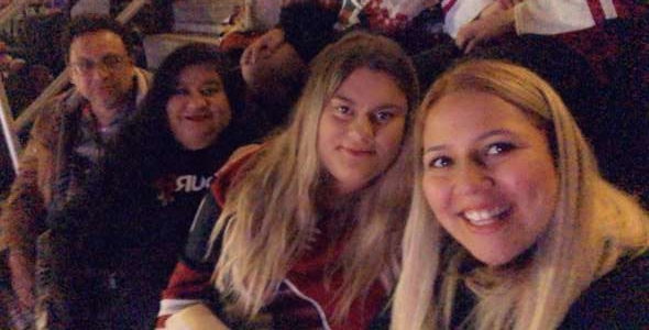Jennie attended Arizona Coyotes vs. Florida Panthers - NHL on Feb 25th 2020 via VetTix