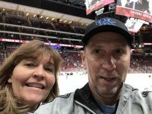Steve attended Arizona Coyotes vs. Florida Panthers - NHL on Feb 25th 2020 via VetTix