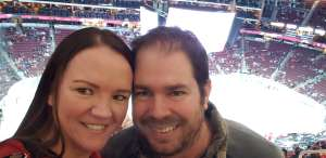 Amanda attended Arizona Coyotes vs. Florida Panthers - NHL on Feb 25th 2020 via VetTix