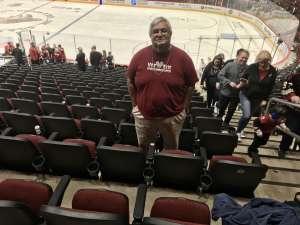 rodolfo attended Arizona Coyotes vs. Florida Panthers - NHL on Feb 25th 2020 via VetTix