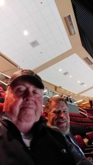 Laurence attended Arizona Coyotes vs. Florida Panthers - NHL on Feb 25th 2020 via VetTix