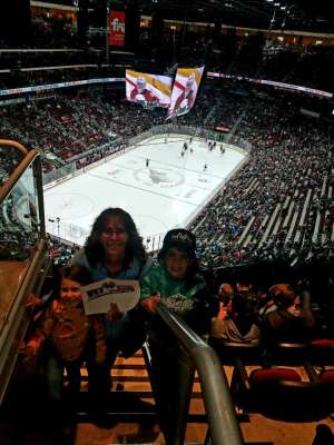 Matthew attended Arizona Coyotes vs. Florida Panthers - NHL on Feb 25th 2020 via VetTix