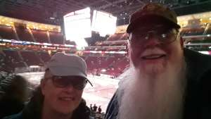 Steve attended Arizona Coyotes vs. Florida Panthers - NHL on Feb 25th 2020 via VetTix