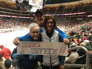 Mark attended Arizona Coyotes vs. Florida Panthers - NHL on Feb 25th 2020 via VetTix