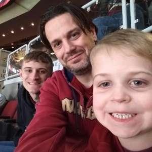 Benjamin attended Arizona Coyotes vs. Florida Panthers - NHL on Feb 25th 2020 via VetTix