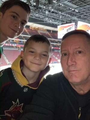 Brian C. attended Arizona Coyotes vs. Florida Panthers - NHL on Feb 25th 2020 via VetTix