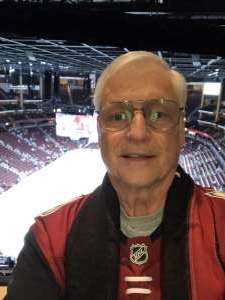 William attended Arizona Coyotes vs. Florida Panthers - NHL on Feb 25th 2020 via VetTix