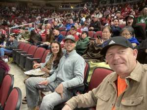 Brent attended Arizona Coyotes vs. Florida Panthers - NHL on Feb 25th 2020 via VetTix