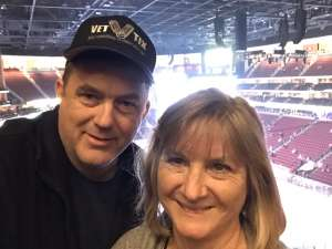 Ethan attended Arizona Coyotes vs. Florida Panthers - NHL on Feb 25th 2020 via VetTix