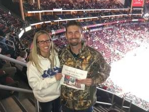 Jonathan attended Arizona Coyotes vs. Florida Panthers - NHL on Feb 25th 2020 via VetTix