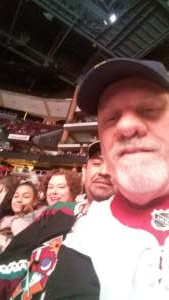 Patrick attended Arizona Coyotes vs. Florida Panthers - NHL on Feb 25th 2020 via VetTix