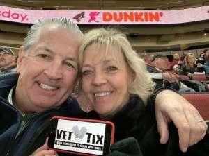 JAMES attended Arizona Coyotes vs. Florida Panthers - NHL on Feb 25th 2020 via VetTix