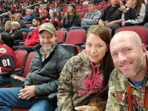 Sean attended Arizona Coyotes vs. Florida Panthers - NHL on Feb 25th 2020 via VetTix