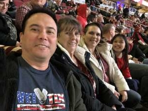 Andy attended Arizona Coyotes vs. Florida Panthers - NHL on Feb 25th 2020 via VetTix