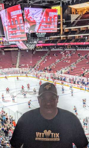 JAZ attended Arizona Coyotes vs. Florida Panthers - NHL on Feb 25th 2020 via VetTix