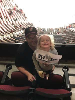 Allen attended Arizona Coyotes vs. Florida Panthers - NHL on Feb 25th 2020 via VetTix