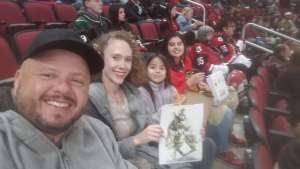 Dennis attended Arizona Coyotes vs. Florida Panthers - NHL on Feb 25th 2020 via VetTix