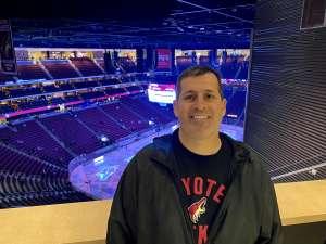 Jason Cyrus attended Arizona Coyotes vs. Florida Panthers - NHL on Feb 25th 2020 via VetTix