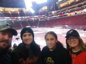 Daniel attended Arizona Coyotes vs. Florida Panthers - NHL on Feb 25th 2020 via VetTix