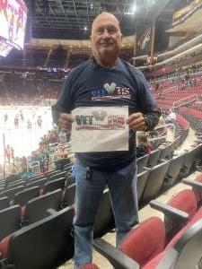Larry attended Arizona Coyotes vs. Florida Panthers - NHL on Feb 25th 2020 via VetTix