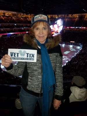Shari  attended Arizona Coyotes vs. Florida Panthers - NHL on Feb 25th 2020 via VetTix
